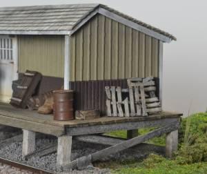 Storage shed/loading dock detail